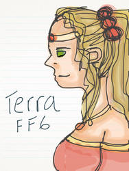 Terra Branford (FFVI) by Powwo