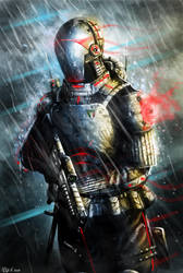 Futuristic soldier by Gabrix89