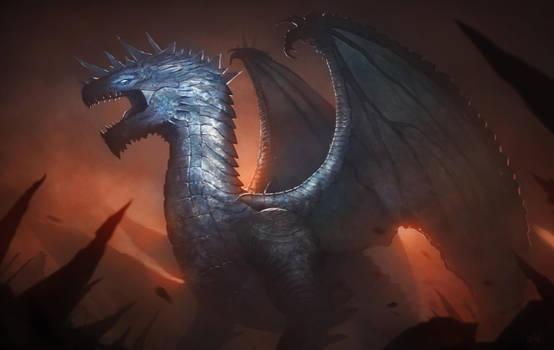Dragon of the Wasteland by Gabrix89