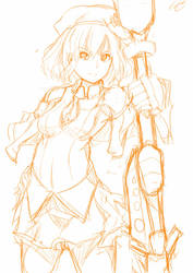 leafa clane doodle by MioChin