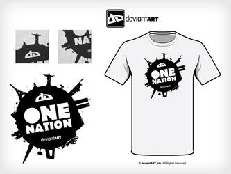 One nation deviantart by dark-voodoo