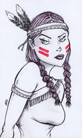 American Indian by JRS-ART