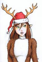 Reindeer? by JRS-ART