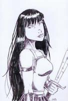 Female Warrior [46a] by JRS-ART