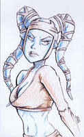 Aayla Secura [35a] by JRS-ART