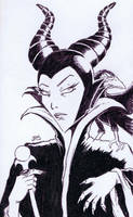 Maleficent [35a] by JRS-ART