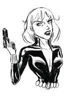 Black Widow by JRS-ART