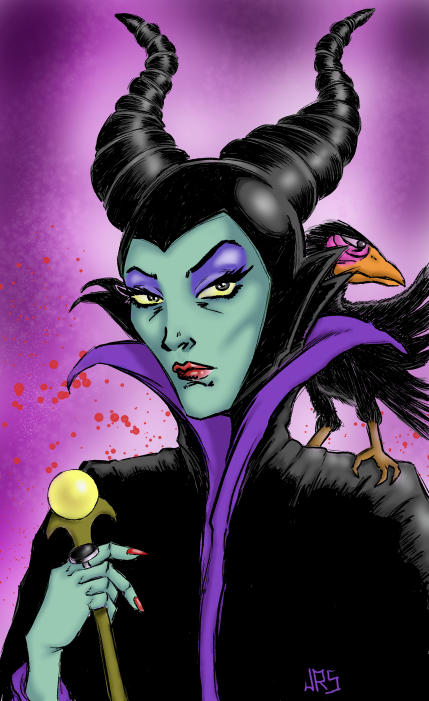 Maleficent by JRS-ART