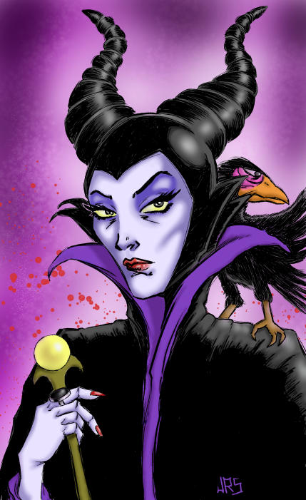 Maleficent b by JRS-ART