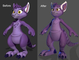 Aliza Before/After by Lemurfeature