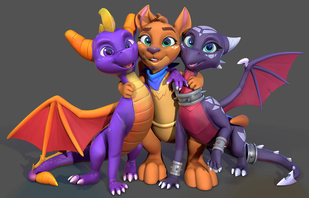 I worked on Spyro Reignited... by Lemurfeature