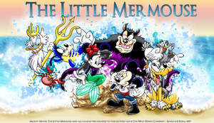The Little Mermouse by Elera