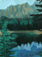 Northern Mountain Reflection by DamnedCat51