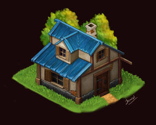 Isometric House. by Lutique