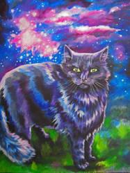 Cosmic Cat by 6-uNiCoRn-CrOsSiNg-9