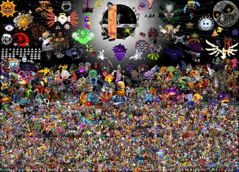 The Gaming Multiverse by Gnorcteen