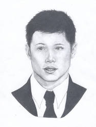 Jensen Ackles Sketch by love4me