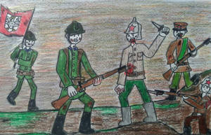 Defenders of Communism by CartoonBattalion