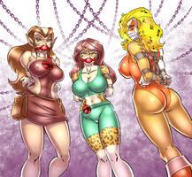 Pumyra, Nemera and Cheetara by sjd83
