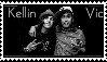 Kellin Quinn And Vic Fuentes STAMP by thed3vilssmile