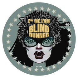 BLIND RUNNER by Vic4U
