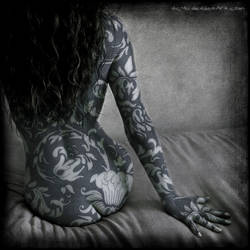 La femme bleue by Vic4U