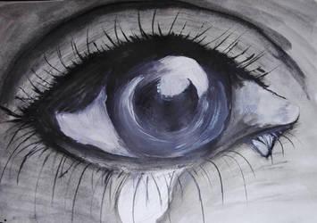 Don't cry... by shiniia