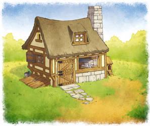 Little House on the prairie by poubelle-de-dav