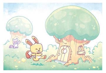 Cute Land by poubelle-de-dav