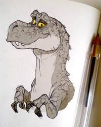 T-rex by poubelle-de-dav