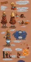 Walking City : Mara's references by Seikame