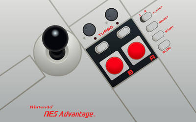 NES Advantage Wallpaper by Doctor-G