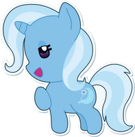 The Great and Adorable Chibi Trixie by Doctor-G