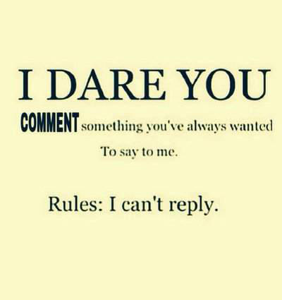 I dare you because why not? owo by IvypoolForever