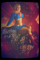 Muscled Supergirl by GoddessNewMultiverse