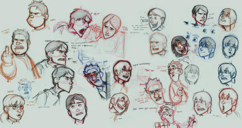 Designs for a Dungeons and Dragons skit by Phrunzoid