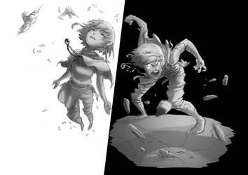 Light and Dark final concept by Phrunzoid