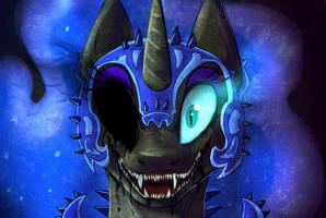 Nightmare Moon by atachi00