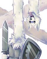 Lesser Dog by atachi00