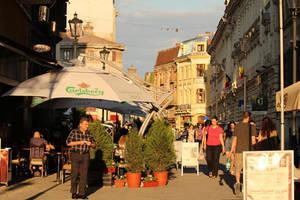Lipscani street by nicubunu