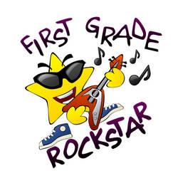 First grade rockstar by nicubunu