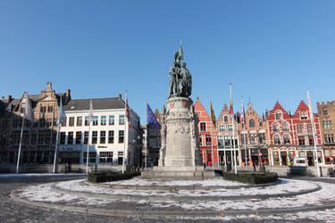 Bruges Center by nicubunu
