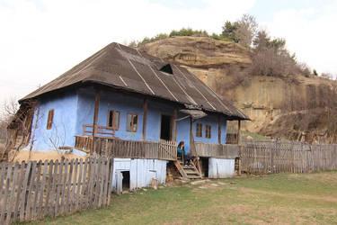 Blue house by nicubunu