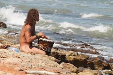 Drummer by nicubunu