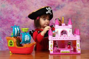 The Pirate Princess by nicubunu