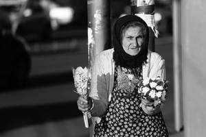 Selling flowers by nicubunu