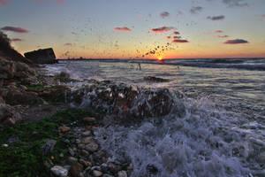 Fight the sea by nicubunu