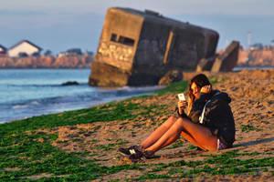 Beach by nicubunu