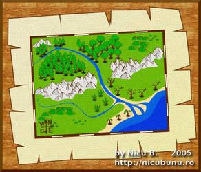 RPG map by nicubunu