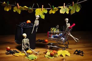 Waiting for Halloween by nicubunu